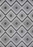 Couristan Veranda Boho Light Grey - Anthracite Area Rug