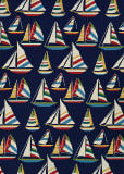 Couristan Outdoor Escape Yachting Navy Area Rug