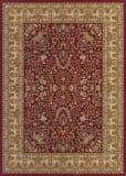 Couristan Izmir Floral Mashhad Red Area Rug