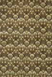 Due Process Empress Arts And Crafts Brown Area Rug