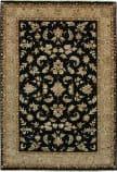 Due Process Madras Kenton Black - Beige Area Rug