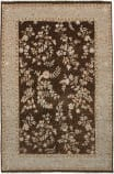 Due Process Madras Oxford Brown - Beige Area Rug