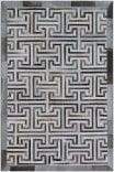 Exquisite Rugs Natural Hide Hair on Hide 2008 Gray - Ivory Area Rug