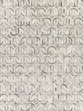 Exquisite Rugs Natural Hide Hair on Hide 2141 Silver - Ivory Area Rug