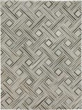 Exquisite Rugs Natural Hide Hair on Hide 2166 Silver - Ivory Area Rug
