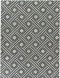 Exquisite Rugs Natural Hide Hair on Hide 2167 Ivory - Blue Area Rug