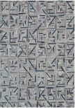 Exquisite Rugs Natural Hide Hair on Hide 2173 Gray - Blue Area Rug