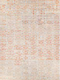Exquisite Rugs Natural Hide Hair on Hide 2204 Terracotta - Ivory Area Rug