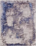 Exquisite Rugs Roset Hand Woven 2536 Silver - Blue Area Rug