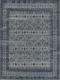 Exquisite Rugs Cadence Hand Knotted 2567 Navy Blue Area Rug