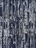 Exquisite Rugs Carrina Hand Knotted 3135 Navy - Silver - Multi Area Rug