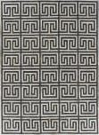 Exquisite Rugs Berlin Hair on Hide 3455 Charcoal - Ivory Area Rug