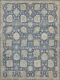 Exquisite Rugs Heirloom Hand Knotted 3986 Blue Area Rug