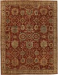 Exquisite Rugs Antique Weave Serapi Hand Knotted 8340 Red - Ivory Area Rug