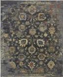 Famous Maker Caprese 100931 Vintage Charcoal - Multi Area Rug