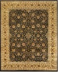Feizy Luxury OLI-1856 Black - Gold Area Rug