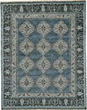 Feizy Ustad 6111f Dark Blue - Gray Area Rug