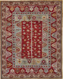Feizy Piraj 6451f Red - Red Area Rug