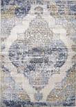 Feizy Marigold 3831f White - Light Blue Area Rug
