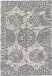 Feizy Akhari 3684f Silver - Beige Area Rug