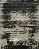 Hri Avalon Av-9718 Grey - Black Area Rug