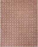 HRI Latitude LA-3151 Pink - Charcoal Area Rug