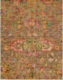 HRI Melody Me-3067 Gold Area Rug