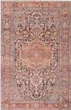Jaipur Living Chateau Cht06 Chariot Orange - Dark Gray Area Rug