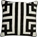 Jaipur Living Cosmic By Nikki Chu Pillow Ordella Cnk08 White - Black Area Rug