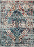 Jaipur Living Indie Farra Ide04 Multicolor - Blue Area Rug