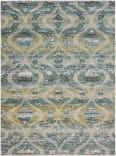Jaipur Living Rhythmik By Nikki Chu Rhn03 Jive Blue - Green Area Rug