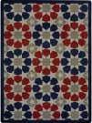 Joy Carpets Kaleidoscope Americana Multi Area Rug