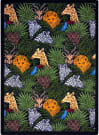 Joy Carpets Playful Patterns Animal Hide And Seek Multi Area Rug