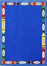 Joy Carpets Kid Essentials Bilingual Colors Multi Area Rug