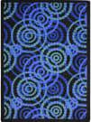 Joy Carpets Kid Essentials Dottie Sapphire Area Rug