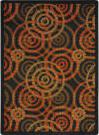 Joy Carpets Kid Essentials Dottie Warm Earth Area Rug