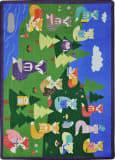 Joy Carpets Kid Essentials Foxy Readers Multi Area Rug