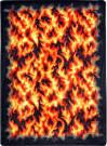 Joy Carpets Kaleidoscope Inferno Red Area Rug