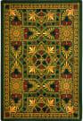 Joy Carpets Games People Play Jackpot Emerald Area Rug