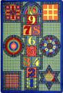 Joy Carpets Kid Essentials Games Galore Multi Area Rug