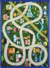 Joy Carpets Kid Essentials My Community Helpers Multi Area Rug