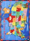 Joy Carpets Kid Essentials Read Across America Multi Area Rug