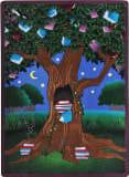 Joy Carpets Kid Essentials Reading Tree Multi Area Rug