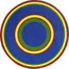 Joy Carpets Kid Essentials Ripples Primary Area Rug