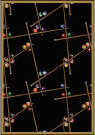 Joy Carpets Games People Play Snookered Black Area Rug