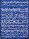 Joy Carpets Kid Essentials Static Electricity Blue Area Rug