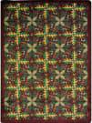 Joy Carpets Kaleidoscope Tahoe Burgundy Area Rug