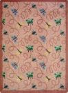 Joy Carpets Kaleidoscope Wing Dings Rose Area Rug