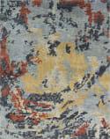 Famous Maker Ingrid 100252 Blue Tones/Multi Area Rug