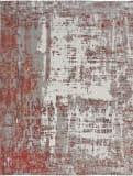 Kalaty Jardin Jr-643 Rust - Grey Area Rug